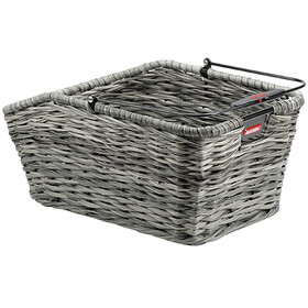 KlickFix Structura GT Bike Basket Basket clip grey